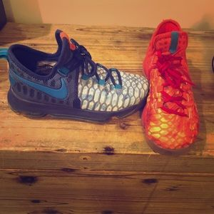 Nike KD Fire & Ice Boys